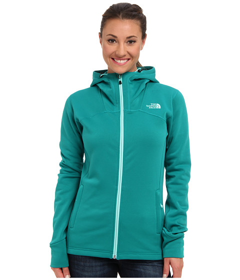 The North Face - Momentum Hoodie (Fanfare Green) Women