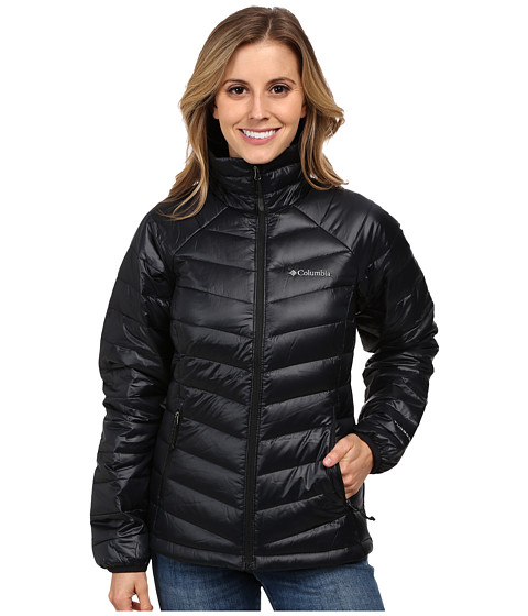 Columbia - Platinum 860 TurboDown Down Jacket (Black) Women's Coat