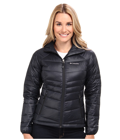 Columbia - Gold 650 TurboDown Hooded Down Jacket (Black) Women