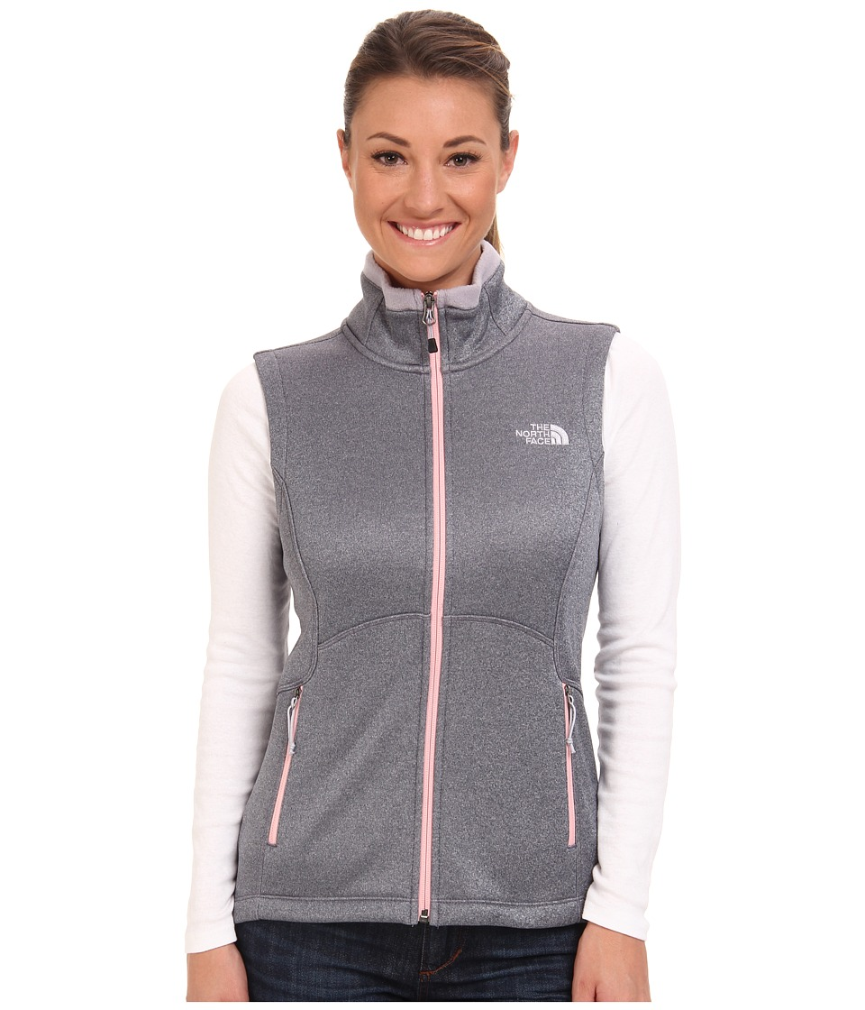 The North Face - Agave Vest (Greystone Blue Heather) Women's Vest