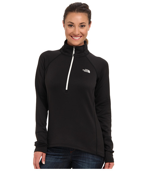 The North Face - Concavo 1/2 Zip (TNF Black) Women's Long Sleeve Pullover