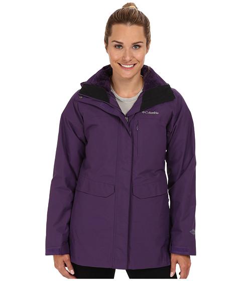 Columbia - Portland Explorer Long Interchange Jacket (Quill/Quill/Black) Women