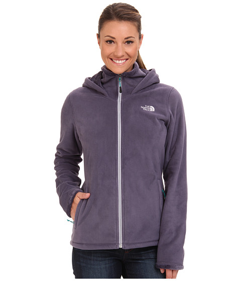 The North Face - Morninglory Hoodie (Greystone Blue) Women's Sweatshirt