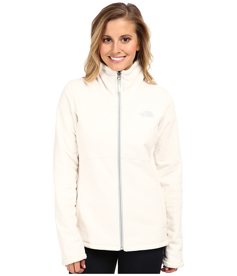 The North Face - Morninglory Full Zip (Gardenia White) Women's Fleece