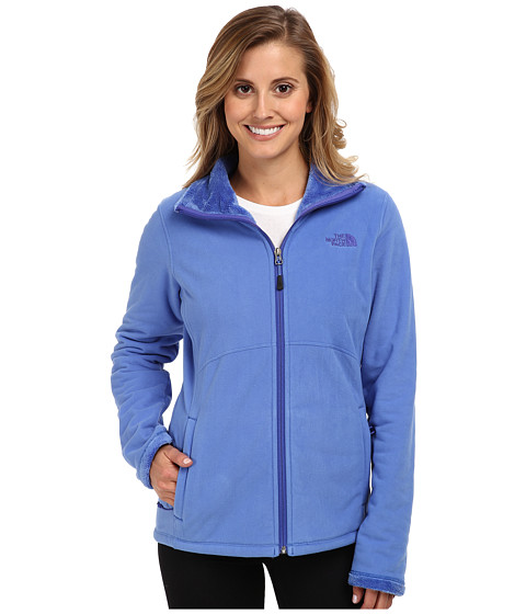 The North Face - Morninglory Full Zip (Coastline Blue) Women