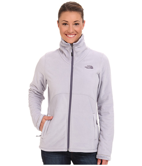 The North Face - Morninglory Full Zip (Dapple Grey) Women's Fleece