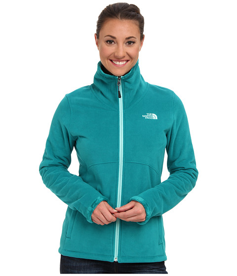 The North Face - Morninglory Full Zip (Fanfare Green) Women