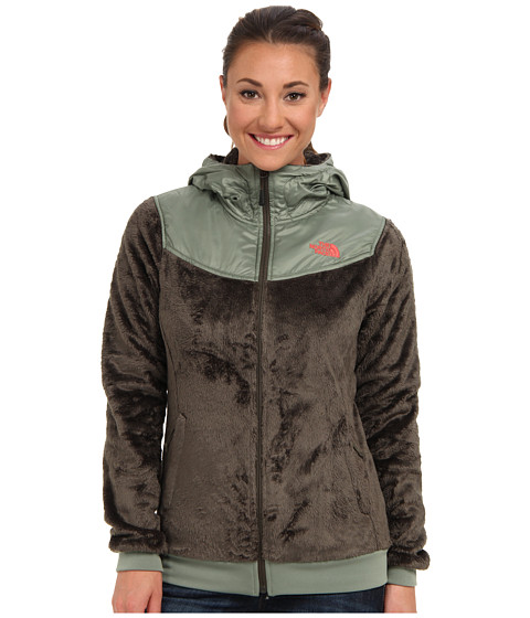 The North Face - Oso Hoodie (New Taupe Green/Sea Spray Green) Women