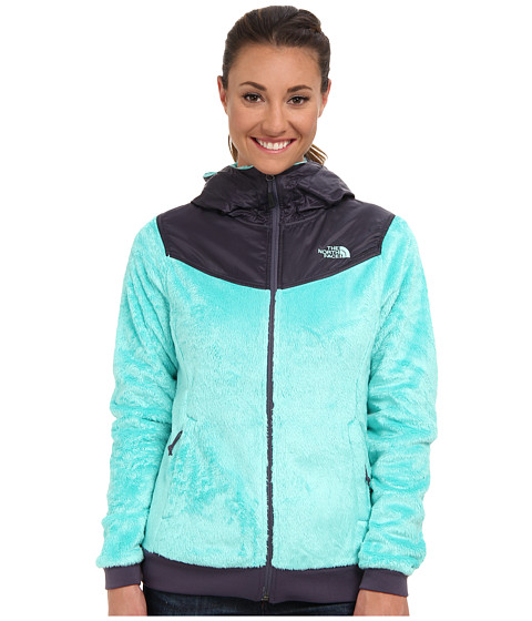 The North Face - Oso Hoodie (Mint Blue/Greystone Blue) Women's Sweatshirt