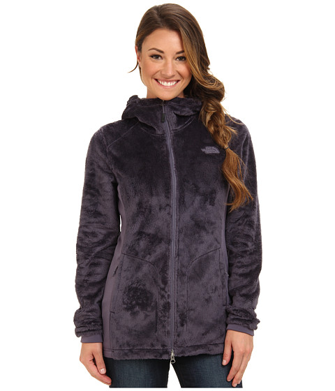 The North Face - Osito Parka (Greystone Blue/Greystone Blue) Women's Coat