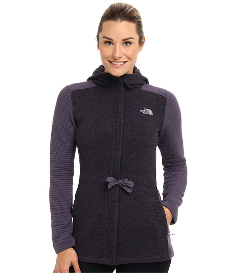 The North Face - Indi Hoodie (Greystone Blue) Women's Sweatshirt