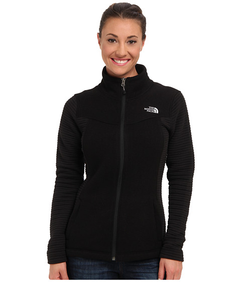 The North Face - Indi Full Zip (TNF Black) Women