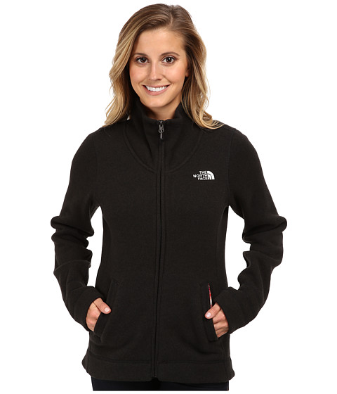 The North Face - Crescent Sunset Full Zip (TNF Black Heather) Women
