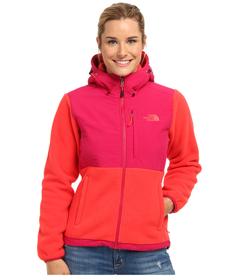 The North Face - Denali Hoodie (Recycled Rambutan Pink/Cerise Pink) Women