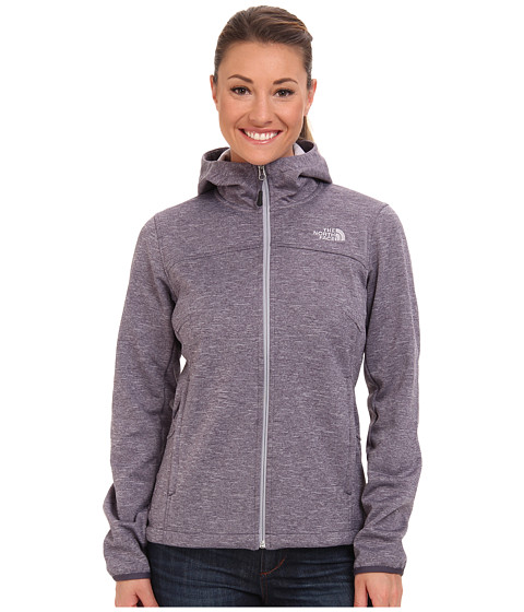 The North Face - Canyonwall Hoodie (Greystone Blue Heather) Women's Sweatshirt