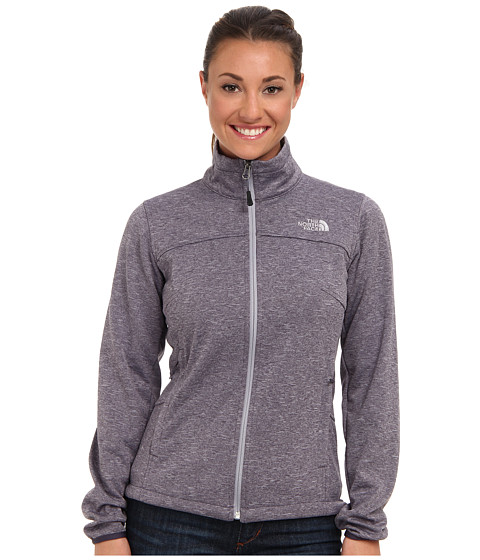 The North Face - Canyonwall Jacket (Greystone Blue Heather) Women's Coat
