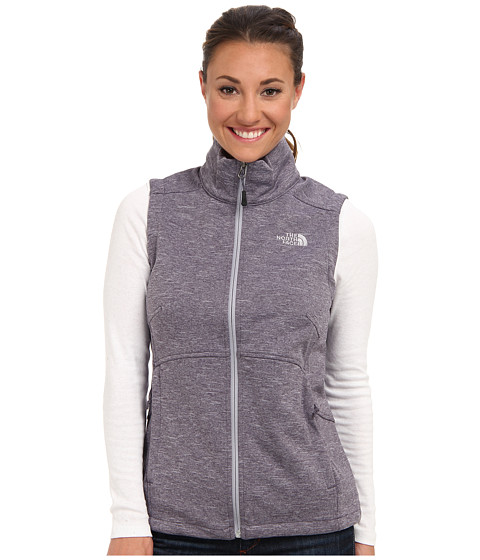 The North Face - Canyonwall Vest (Greystone Blue Heather) Women's Vest