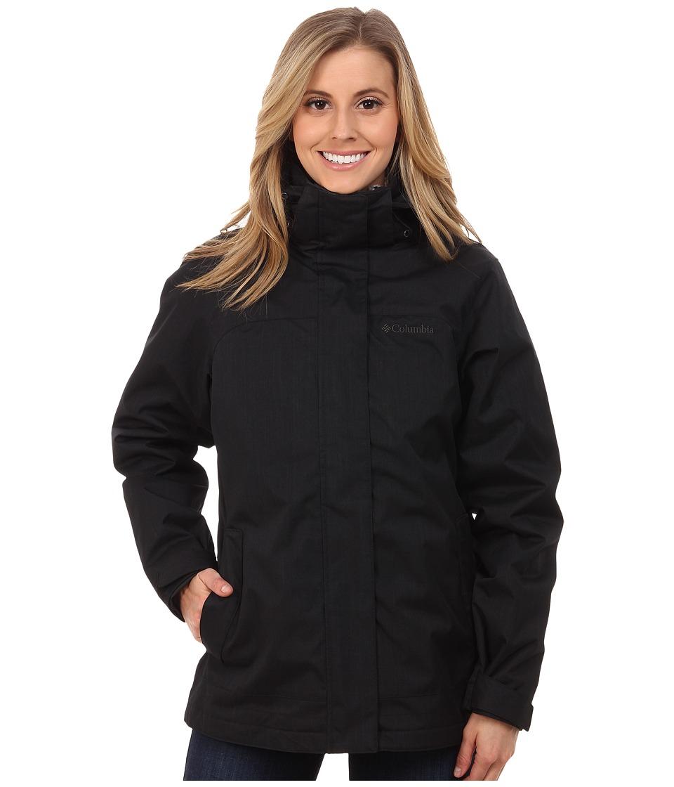 Columbia - Sleet To Street Interchange Jacket (Black/Black) Women's Coat