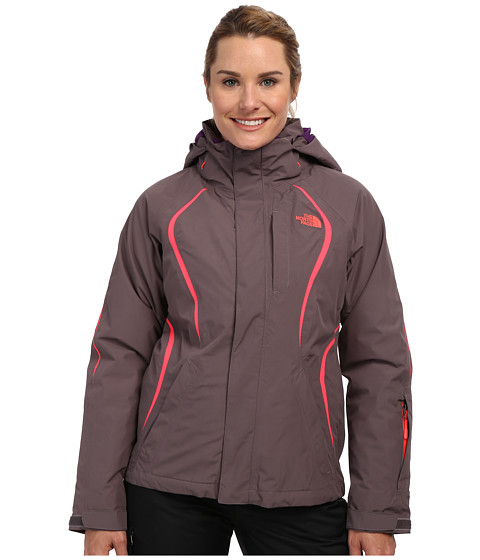 The North Face - Kira 2.0 Triclimate Jacket (Sonnet Grey/Sonnet Grey/Rocket Red/Gravity Purple) Women