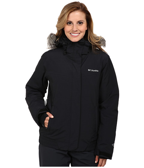 Columbia - Shimmerlicious Jacket (Black Metallic) Women's Coat