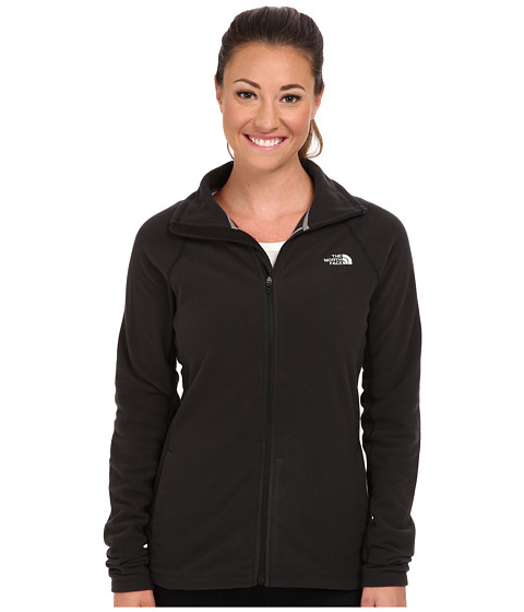 The North Face - Tech 100 Full Zip (TNF Black/TNF Black) Women
