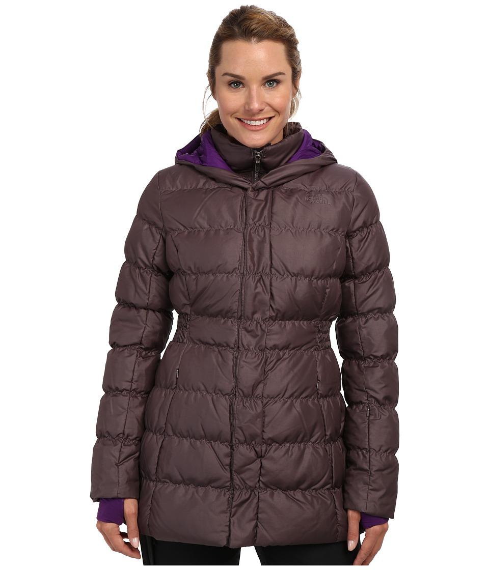 The North Face - Emma Jacket (Sonnet Grey/Sonnet Grey/Gravity Purple/Gravity Purple) Women's Coat