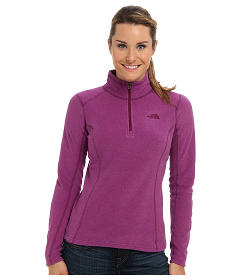 The North Face - Glacier 1/4 Zip (Parlour Purple Heather) Women