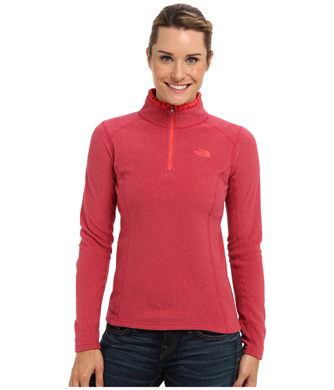 The North Face - Glacier 1/4 Zip (Cerise Pink Heather) Women's Sweatshirt