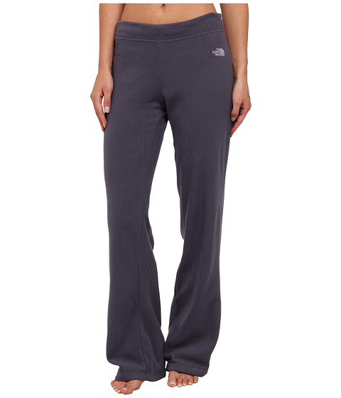 The North Face - TKA 100 Microvelour Pant (Greystone Blue) Women