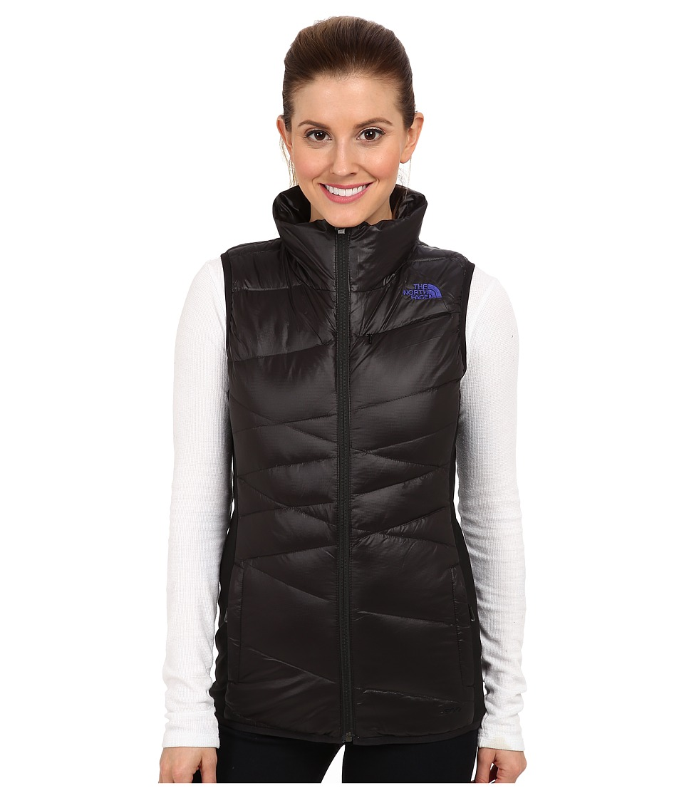 The North Face - Hyline Hybrid Down Vest (TNF Black/Tech Blue/TNF Black/Tech Blue/TNF Black) Women
