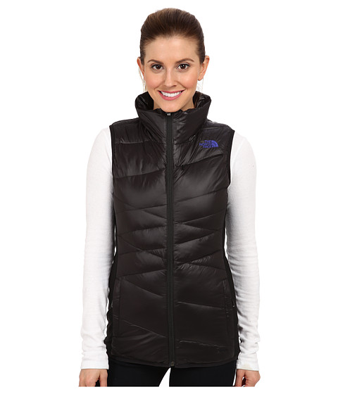 The North Face - Hyline Hybrid Down Vest (TNF Black/Tech Blue/TNF Black/Tech Blue/TNF Black) Women's Vest