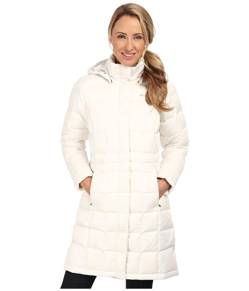 19f24db1150 ... S UPC 887921057449 product image for Columbia Hexbreaker Long Down  Jacket (Sea Salt) Women s Jacket