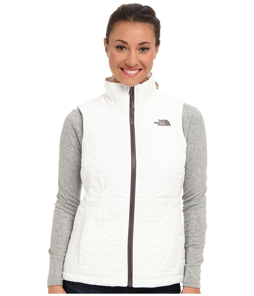 The North Face - Tamburello Vest (TNF White/Sonnet Grey/TNF White/Sonnet Grey/TNF White) Women