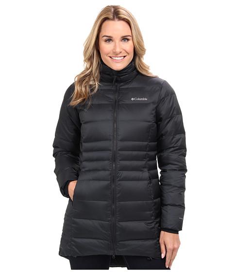 Columbia - Hellfire Mid Down Jacket (Black) Women's Coat