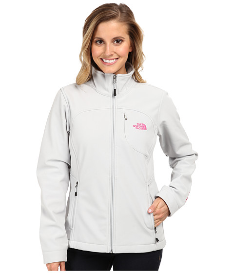 The North Face Pink Ribbon Apex Bionic Jacket (High Rise Grey) Women's Coat