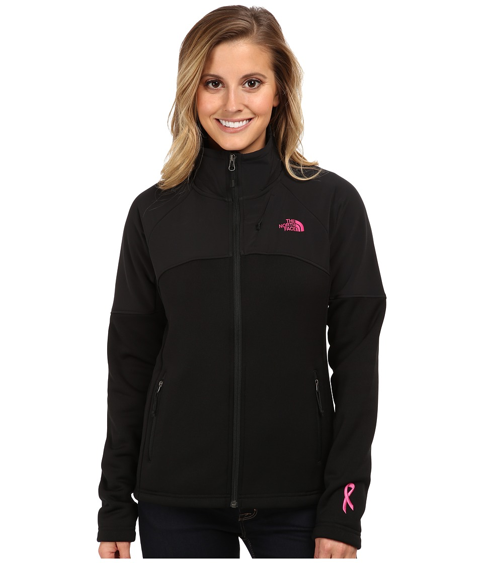 The North Face - Pink Ribbon Momentum 300 Jacket (TNF Black) Women's Coat