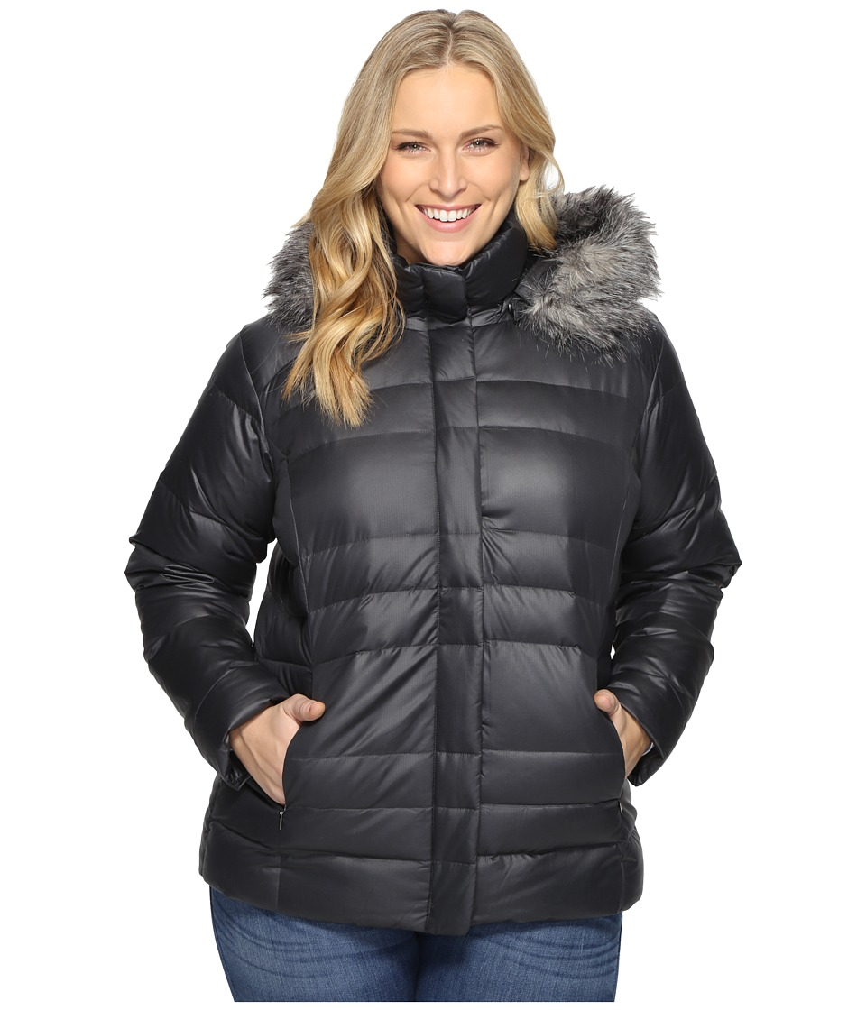 Columbia - Plus Size Mercury Maven IV (Black) Women's Coat