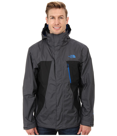 The North Face - Mountain Light Jacket (Vanadis Grey/TNF Black) Men's Coat