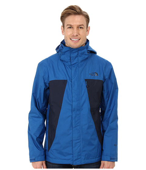 The North Face - Mountain Light Jacket (Snorkel Blue/Cosmic Blue) Men's Coat