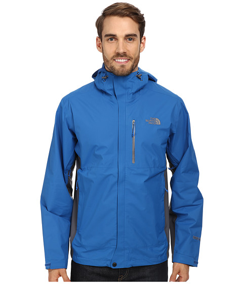 The North Face - Dryzzle Jacket (Snorkel Blue/Vanadis Grey) Men's Coat