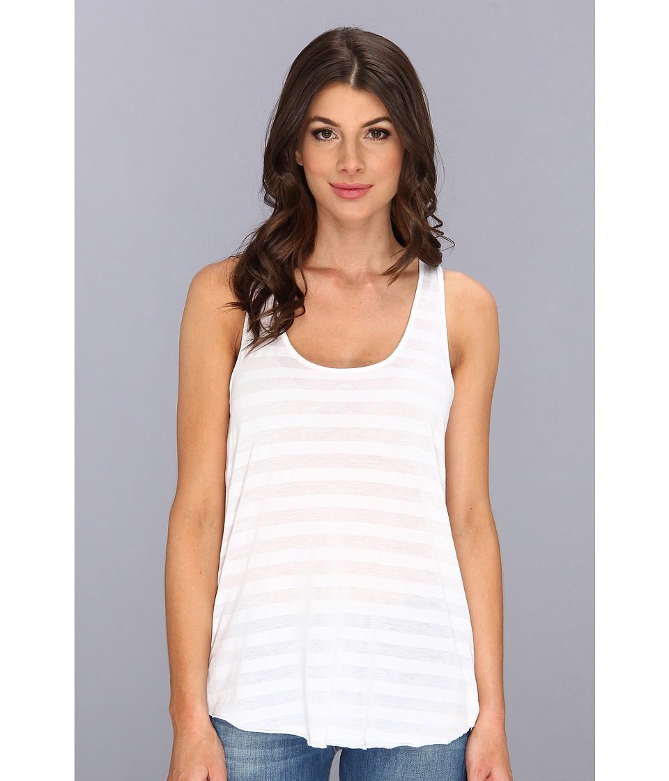 Velvet by Graham & Spencer - Colette02 Tank Top (White) Women's Sleeveless