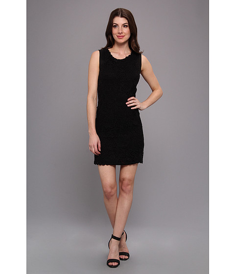 Velvet by Graham & Spencer - Voletta02 Lace Dress (Black) Women