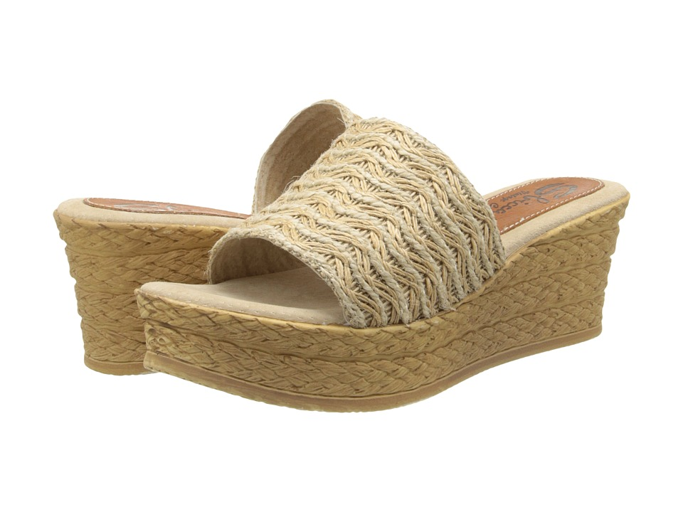Sbicca - Bungalow (Natural) Women's Shoes