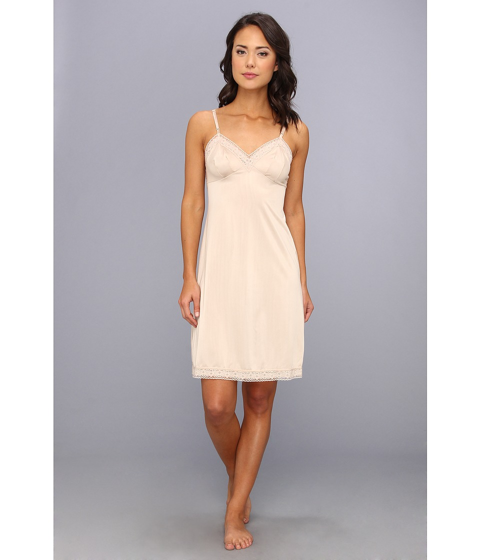 Vanity Fair - Rosette Lace Full Slip (Damask Neutral) Women