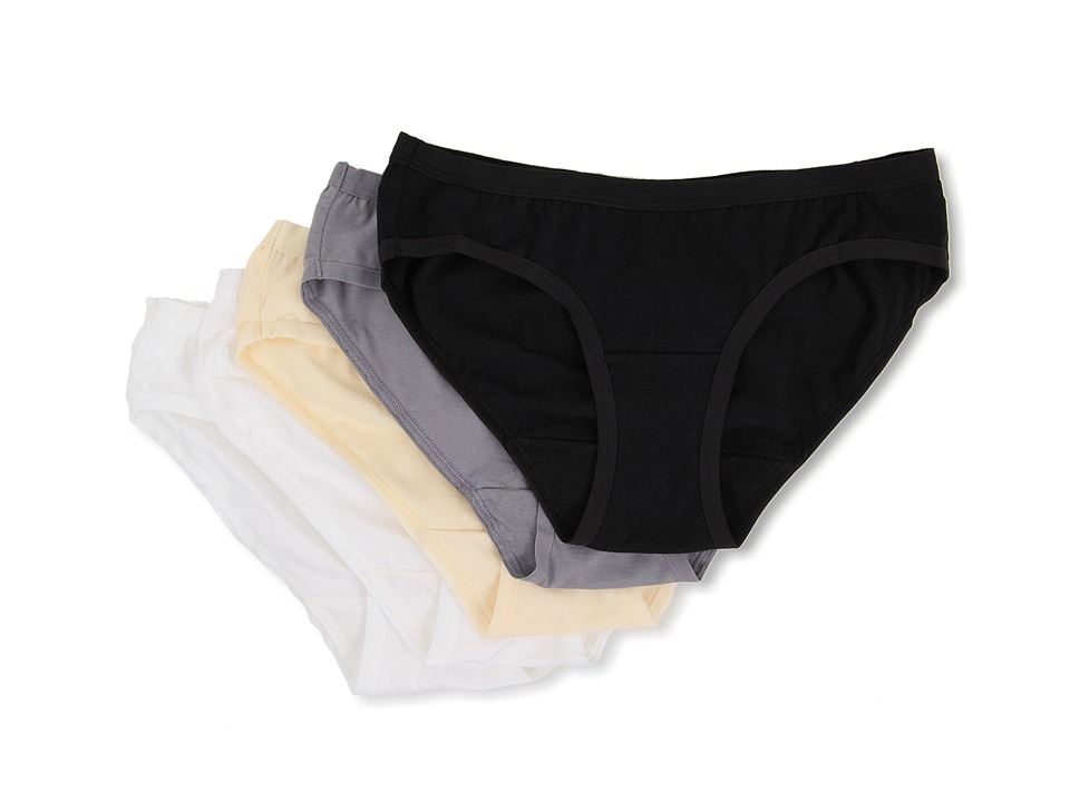 Vanity Fair - 5 Pack Cotton Stretch Hipster (Basic Pack 2) Women's Underwear