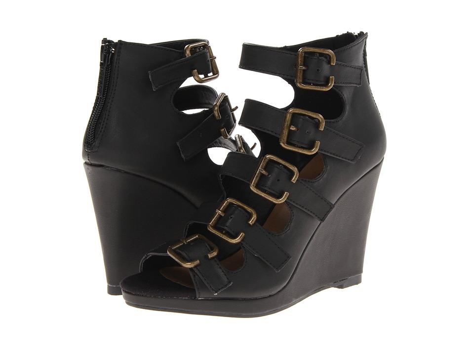 Michael Antonio - Alyson (Black) Women's Wedge Shoes