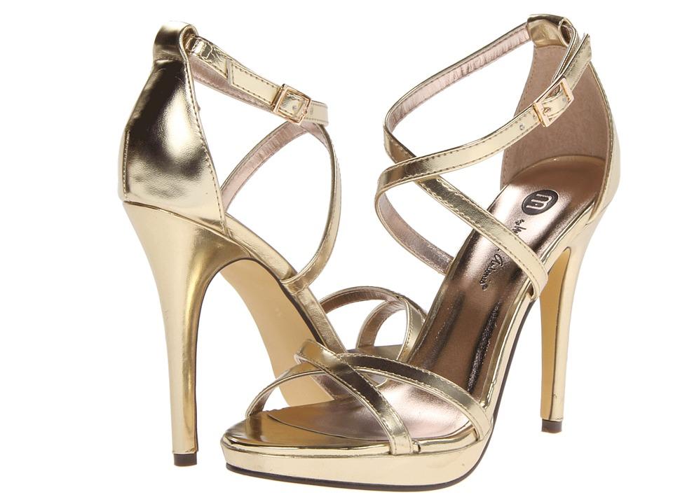 Michael Antonio - Tarten Metallic (Gold) High Heels