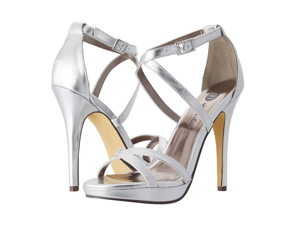 Michael Antonio - Tarten Metallic (Silver) High Heels