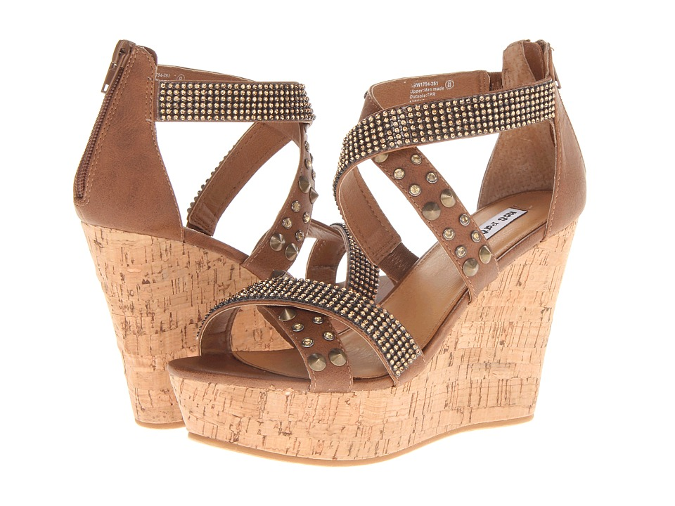 Not Rated - Cant Get Enough (Tan) Women's Wedge Shoes