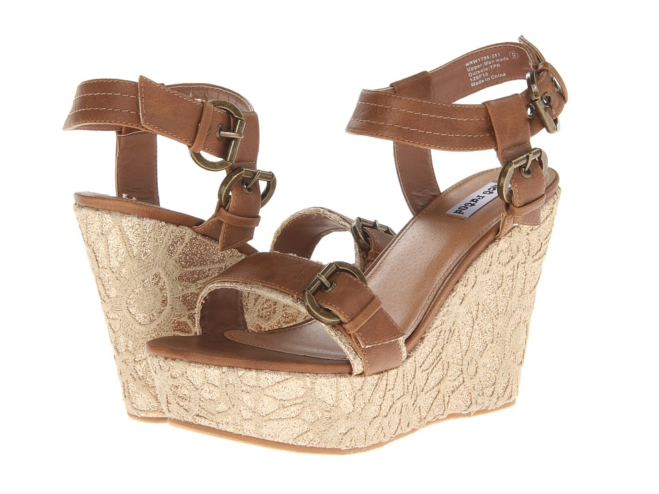 Not Rated - Swizzle (Tan) Women's Wedge Shoes